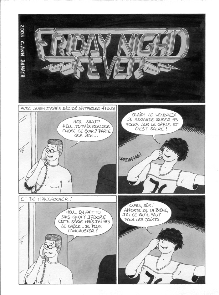 BD lesbienne - Friday Night Fever - Page 1