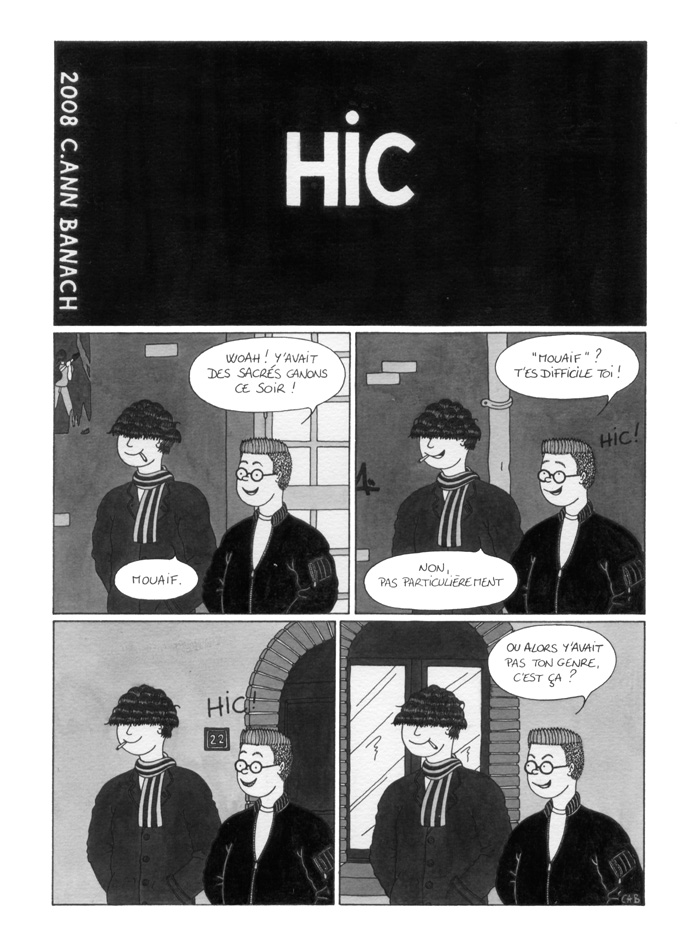 BD lesbienne - Hic - Page 1