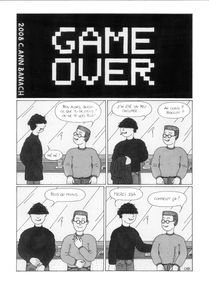 BD lesbienne - Game Over - Page 1